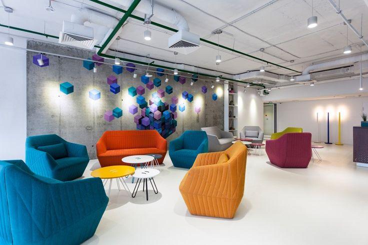 Diseño Oficinas corporativas - Playtech #36 un ejemplo increíble del diseño y decoración de interiores moderno para empresas. Ve la galería de fotos aquí.