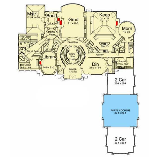 Plan 12199jl Awe Inspiring Architecture With Video Tour Luxury House Plans Luxury House Designs Mountain House Plans