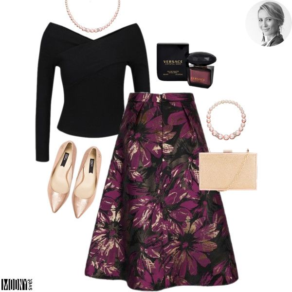 Kvetovaná midi sukňa – MODNYSVET