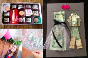 28 idées pour ceux qui veulent offrir de l'argent de manière originale