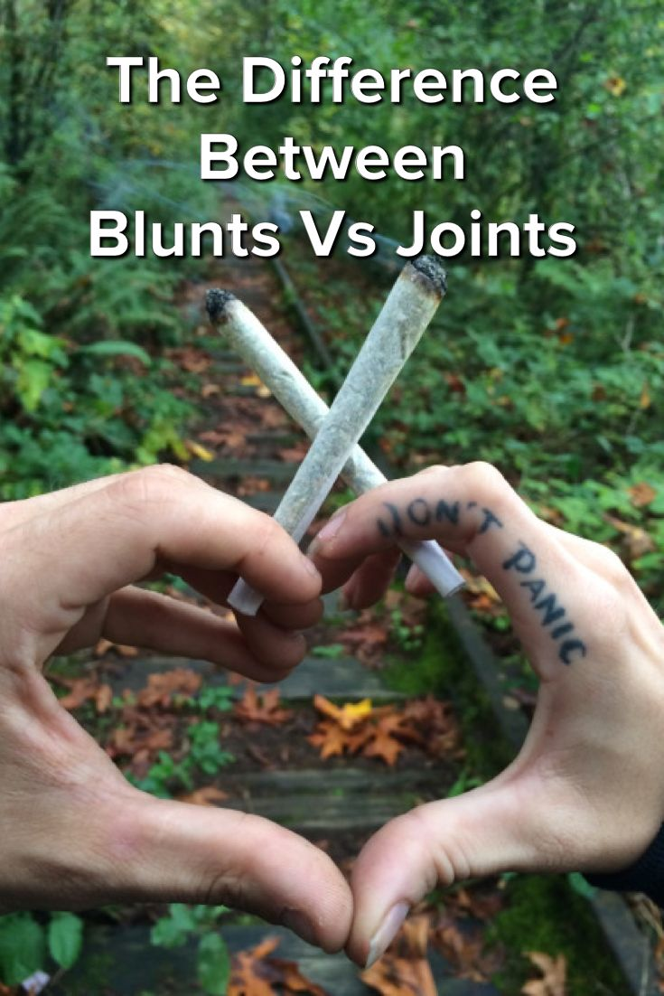 The Difference Between Blunts Vs Joints