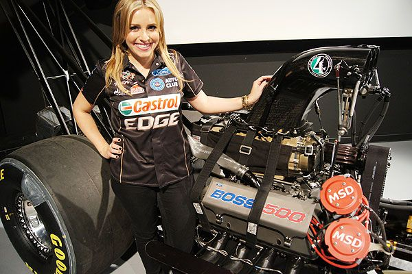 Brittany, 26, will become the first member of the Force family to drive a Top Fuel dragster. John Force Racing has competed exclusively with Funny Cars for 35 years, producing 17 championships and 217 victories.