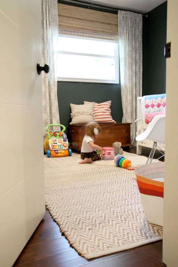 Bamboo blinds toy chest and window treatments on pinterest