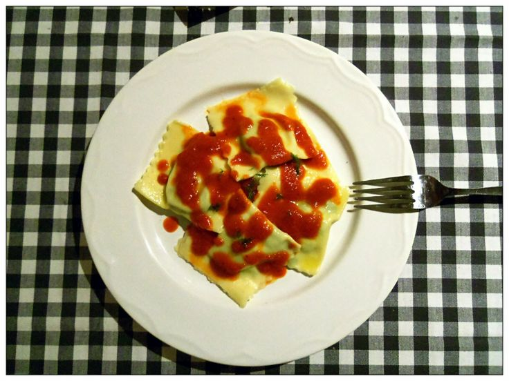 Spinach and Ricotta Ravioli | You've Got Meal!