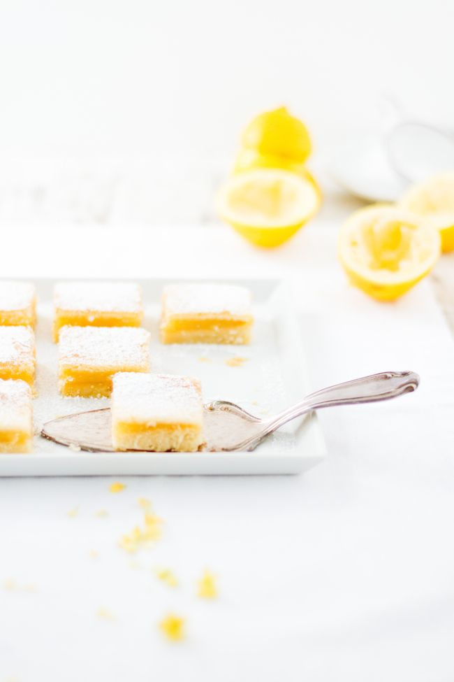 ... lemon bars ...