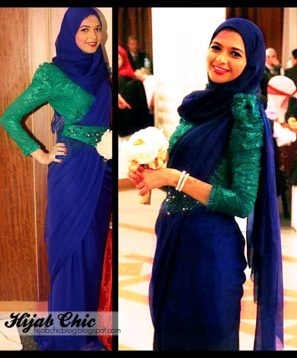 Hijab Chic ; These hijab dresses are designed by Rofayda Jamal  so chic and feminine mashAllah