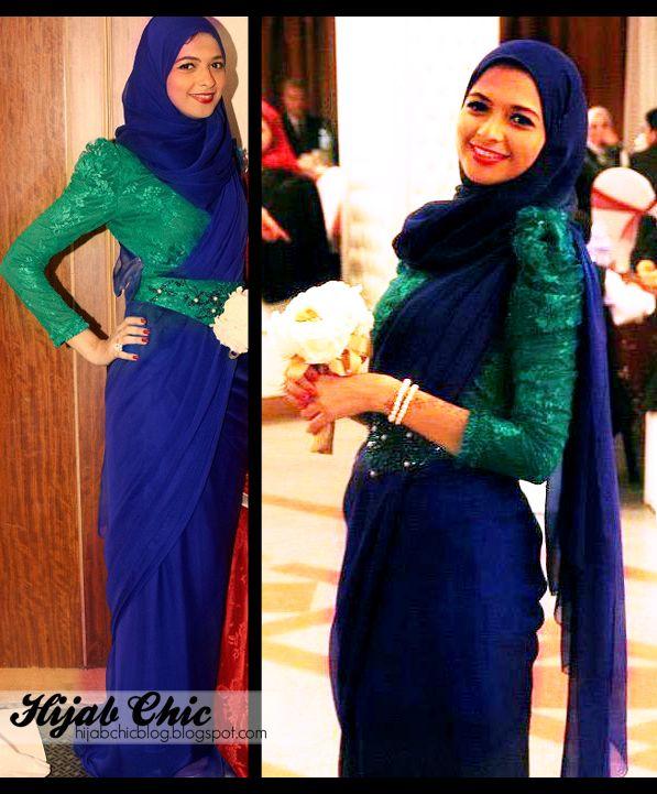 Hijab Chic ; These hijab dresses are designed by Rofayda Jamal  so chic and feminine mashAllah
