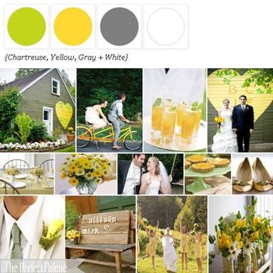 WEDDING PALLET SCHEMES | Perfect Summer color scheme by The Perfect Palette.