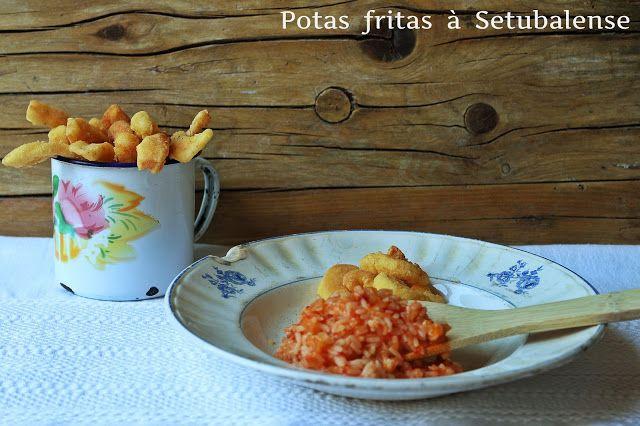 Potas fritas à Setubalense