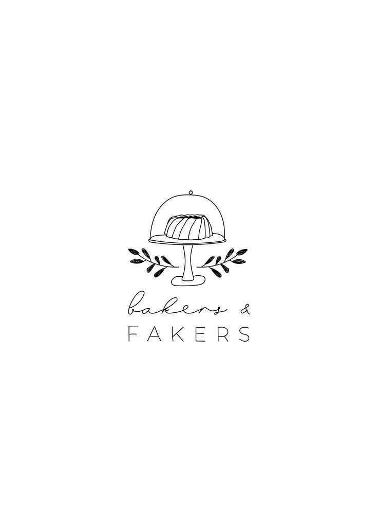 Booking October Custom Logo Set Logo Design Branding Etsy Branding Design Logo Logo Design Bakery Logo Design