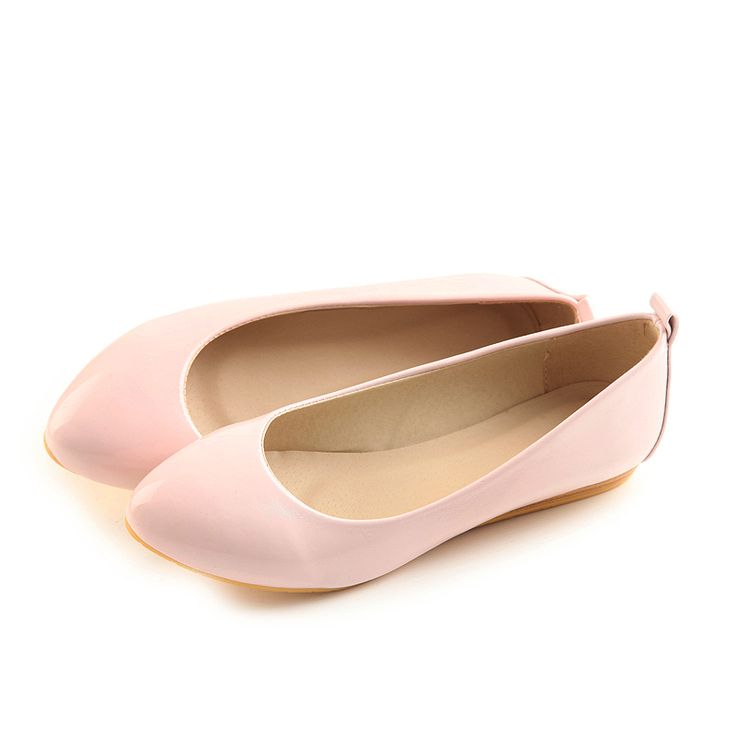 Dresswe.com SUPPLIES Sweet Small Toe Simple Style Shoes Flats