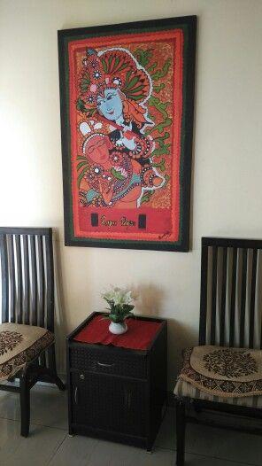 Radha kishan #my creation #home decor.