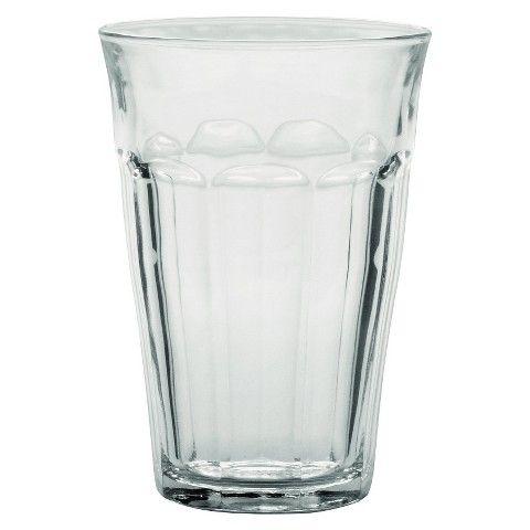 Purchase 4 sets, (24 total) Duralex - Picardie 12 5/8 oz Glass set of 6 Perfect everyday glass and size.