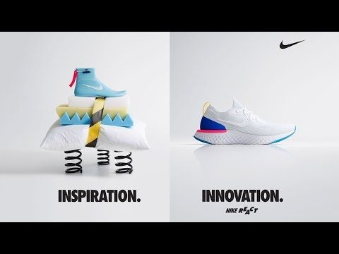 BRAND NEW NIKE EPIC REACT FLYKNIT REVEAL - YouTube