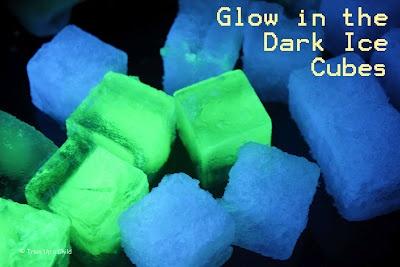 Glowing ice!