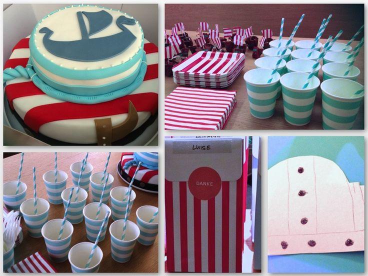 Wikinger Geburtstagstorte von Miyuko