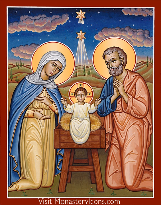 Christ the New Dawn icon from Monastery Icons