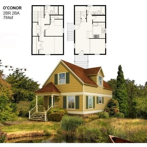 Shell Home Package 2br 2ba 784sf The O Conor Modern Modular House Greenterrahomes Prefab Home Kits Prefab Homes Building A Container Home
