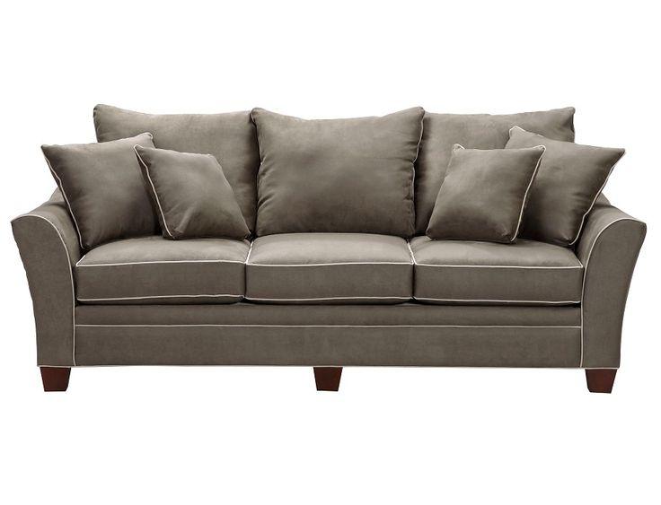 Slumberland Ashford Collection Thyme Sofa Sofa Tan
