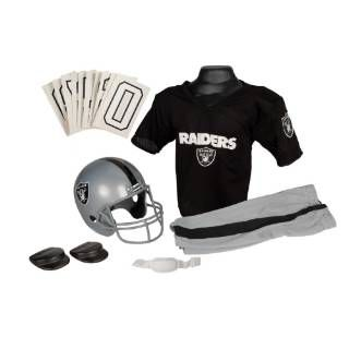 Check out the Franklin Sports 15700F22P1Z NFL Raiders Small Uniform Set