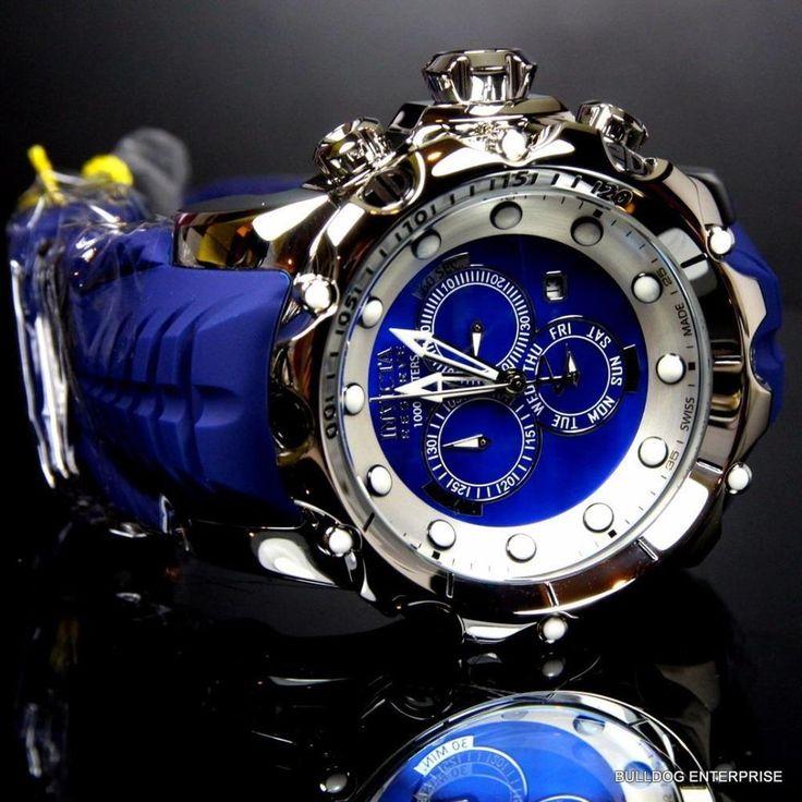 Invicta Reserve Venom sea Dragon Gen Ii Azul Suizo fregona Cronógrafo Reloj Nuevo in Joyería y relojes, Relojes, Relojes pulsera | eBay