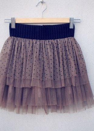 Kup mój przedmiot na #vintedpl http://www.vinted.pl/damska-odziez/spodnice/10558943-spodniczka-w-groszki-tiulowa