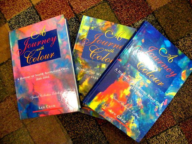 COLLECTOR ITEM OPAL BOOKS LEN CRAM SET OF 3-INVESTMENT no.2  opal books, opal literature , len cram opal books