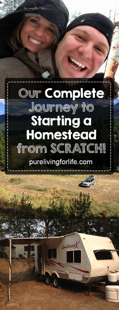 Follow this young couple as they build their #offthegrid #homestead in Idaho, 100% from scratch, debt-free! They showed up with nothing but a Subaru, a pickup truck and a tiny travel trailer! #offgrid #livingoffthegrid #homesteading