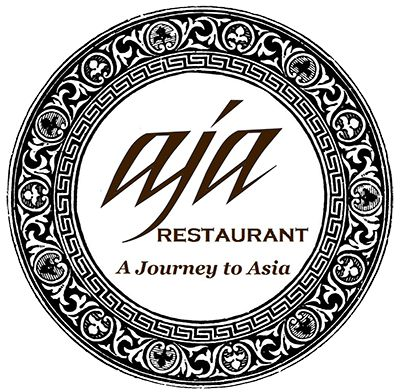 Aja Restaurant (Melbourne) - Asia Fusion Restaurant. The font clearly looks to be based on the one used on the album.