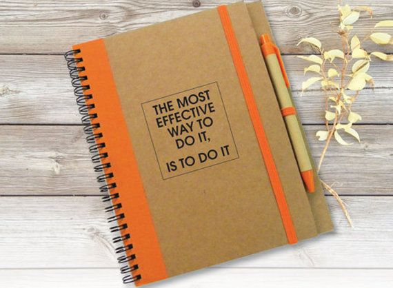 Customed Quote Notebook Journal To Do List Notebook by LooveMyArt