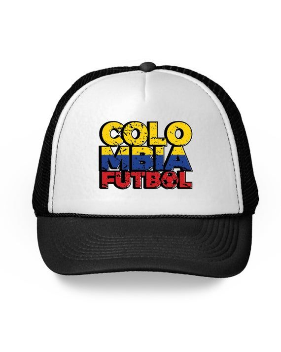 Colombia Futbol Trucker Hat Colombia Hat for Men and Women Colombian Soccer 2018…   – Products