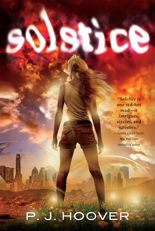 Solstice by P.J. Hoover | Publisher: Tor Teen / Macmillan | Publication Date: June 18, 2013 | www.pjhoover.com | #YA #dystopian #mythology
