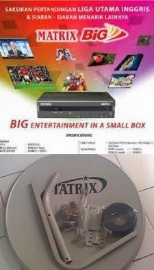 HARGA PAKET PARABOLA BIG TV