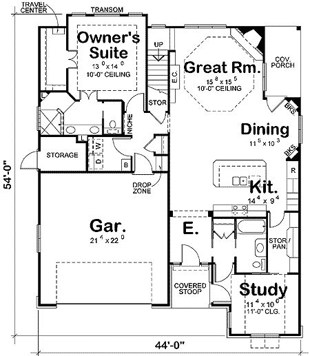 – 42221DB | 1st Floor Master Suite, Bonus Room, Butler Walk-in Pantry, CAD Available, Craftsman, Den-Office-Library-Study, Narrow Lot, PDF | Architectural Designs – Gisele Pelky