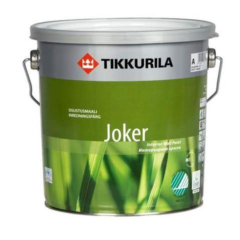 Joker - Allergiaystävällinen sisäseinämaali Ympäristötietoisen valinta – turvallinen, vähäpäästöinen ja hajuton sisustusmaalien klassikko. Hillityn himmeä, Joutsenmerkitty ja Allergia- ja Astmaliiton suosittelema sisämaali.
