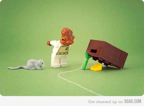 It's a trap!: Mice, Admirer Ackbar, Galleries, Starwars Lego, Inspiration, Lego Starwars Geek, Stars War, Funny Wallpapers, People
