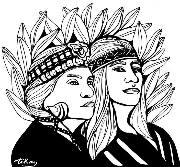 Ilustración de Tikay .