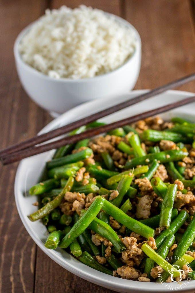 Szechuan Green Beans & Pork
