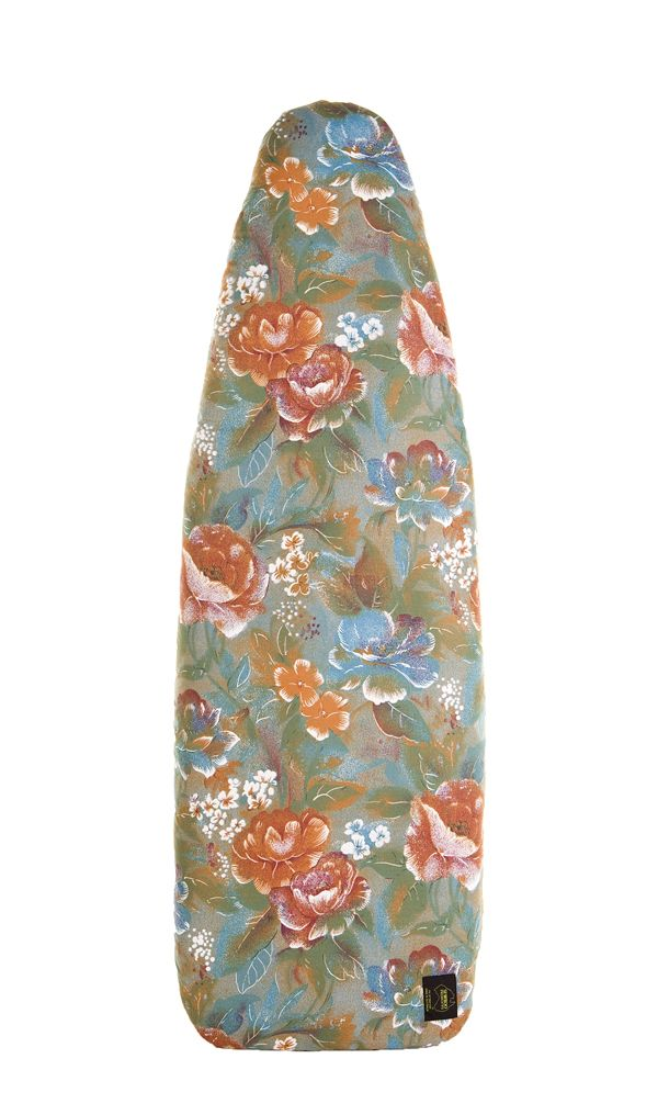 'Rustic Floral' Ironing Board Cover Available for order at  http://www.sewroo.com.au/product/rustic-floral-ironing-board-cover/ #homedecor #ironing #clothes #cleaning #homeorganization