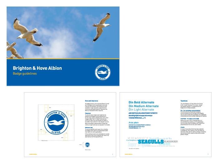 The Amex Community Stadium, City of Brighton & Hove #Stadia #Football #BHAFC #interiors #Graphics #seagulls