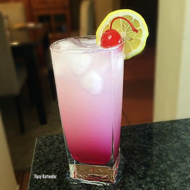 CHERRY LEMONADE 1 Oz. (30ml) Cherry Liqueur 1/2 Oz. (15ml
