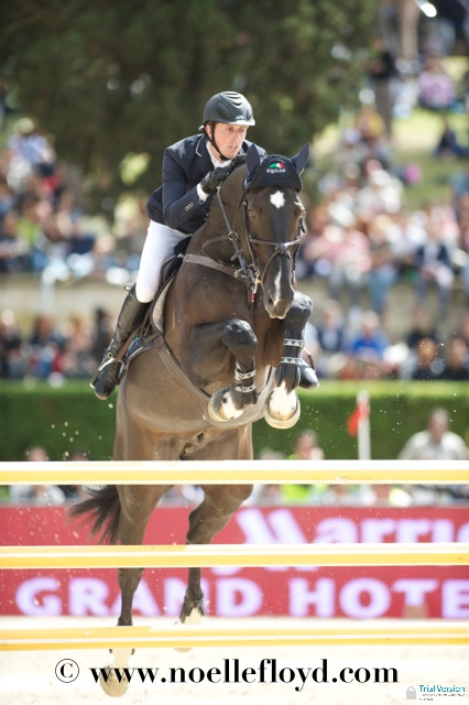 Photos from the Piazza di Siena Grand Prix in Rome… Britain's Ben Maher and Tripple x III - GB finished equal fifth in the Nations Cup #showjumping #equestrian #horses