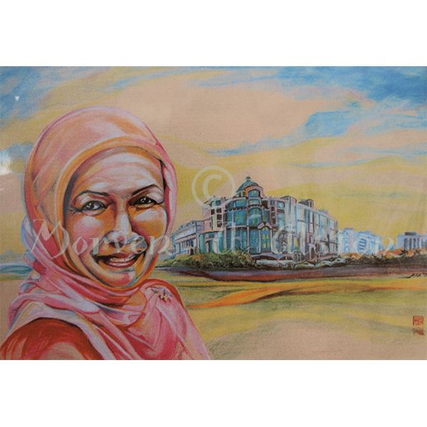 Mariani and the Mall by Morven A. Alston. Artwork created in: Panaga, Brunei
