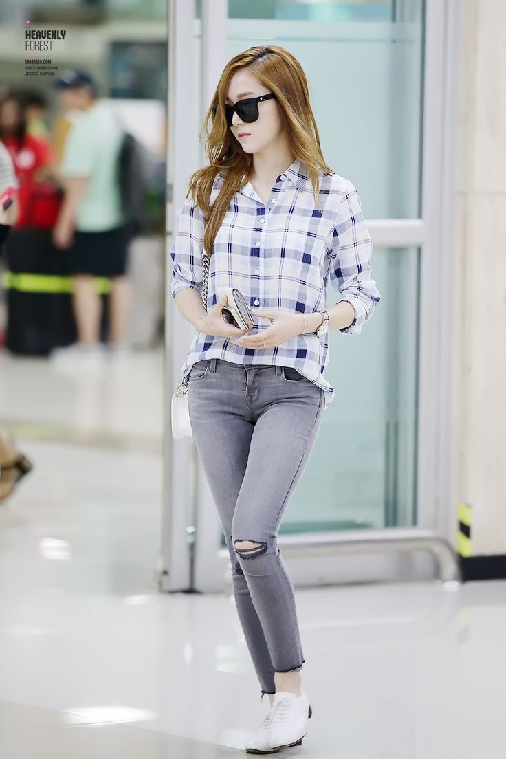 SNSD Jessica Airport Fashion 140602 2014 | fashion ...