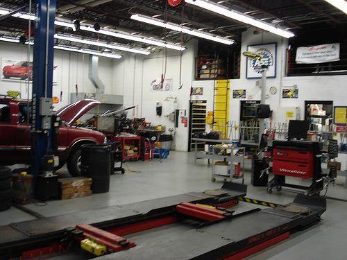 12 best panelbeating workshop images on pinterest for Mechanic shop flooring