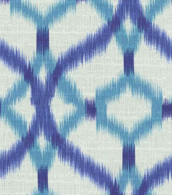 Home Decor Print Fabric Waverly Izmir Ikat Aegean At Joann Com