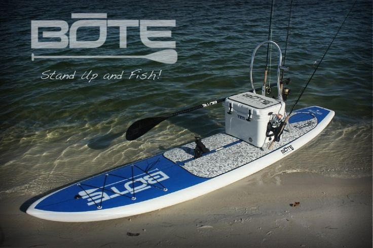 bote paddle board love that you can add a yeti cooler