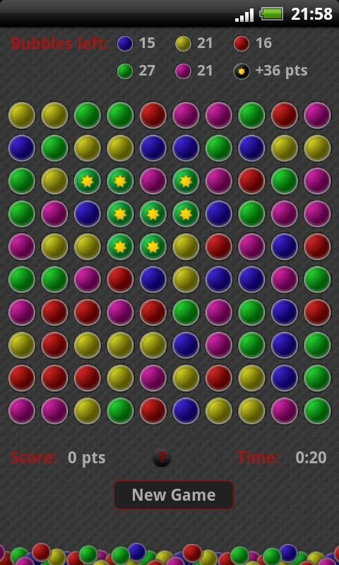 Bubble break Pro is an classic and amazing puzzle bubble popping game, also known as bubble shooter, bubble breaker game.<br><br>Goal of bubble breaker game is to remove (clear) as many bubbles as possible. In bubble break game you break or shoot pairs of two or more matching bubbles of the same color by clicking on one of the bubbles of same color.<br>The remaining bubbles which left in bubble break game then collapse to fill in the gaps and new group of bubbles is formed. The idea is of…