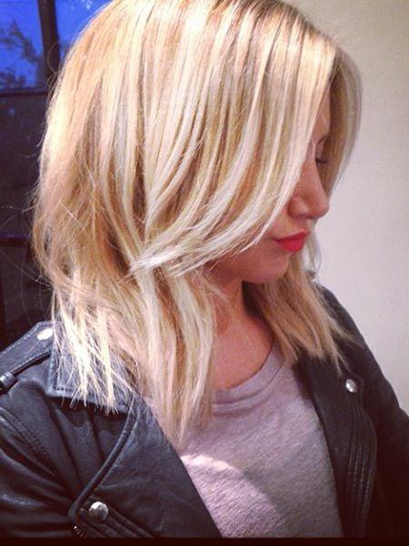Ashley Tisdale : Neue Frisur! Die Haare sind ab