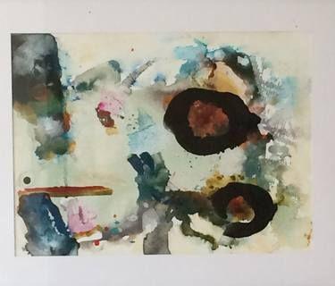 "Saatchi Art Artist Christie Brunet; Painting, ""Number 9"" #art"